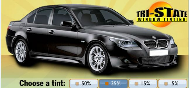 35% Auto Window Tinting